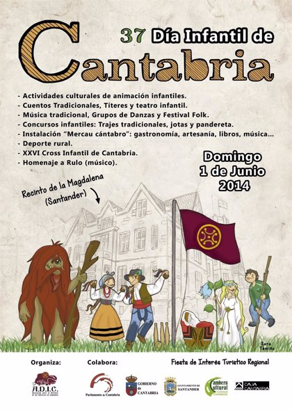 El Día Infantil de Cantabria se celebra hoy en la Magdalena