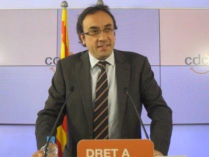 """Rull (CDC) replica a Rajoy que es el Gobierno que va por la """"vía equivocada"""""""