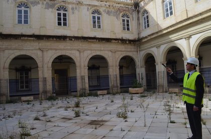 """Cultura urge a actuar en la cubierta original del Hospital Provincial para recuperar su """"imagen histórica"""""""