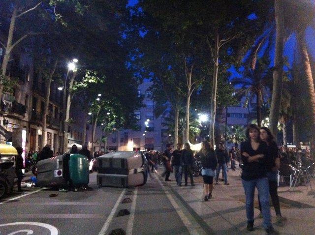 Altercados en Barcelona por Can Vies