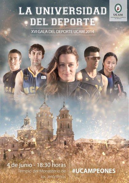 La UCAM prepara su Gala del Deporte con la presencia de 20 deportistas olímpicos