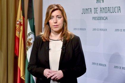 """Susana Díaz traslada por carta al Papa """"su preocupación y compromiso"""" en la lucha contra el paro juvenil"""