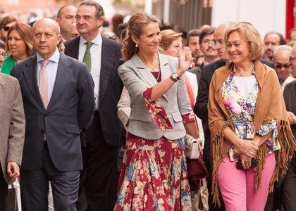 La Infanta Elena inaugura la 73 Edición de la Feria del Libro de Madrid