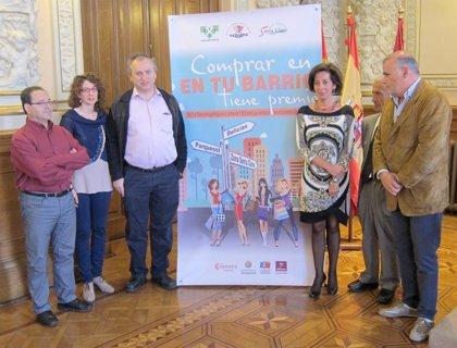 Casi 100 comercios de Parquesol, Delicias y Santa Clara en Valladolid sortearán cheques de compra entre sus clientes