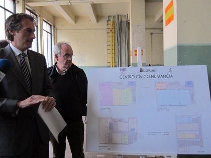 El centro cívico de Numancia se inaugura mañana