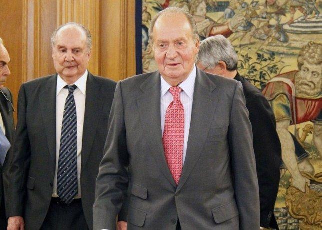 Rey Don Juan Carlos (Archivo)