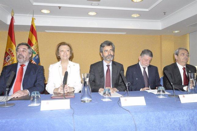 Inauguración de las Jornadas de Presidentes de Audiencias Provinciales.