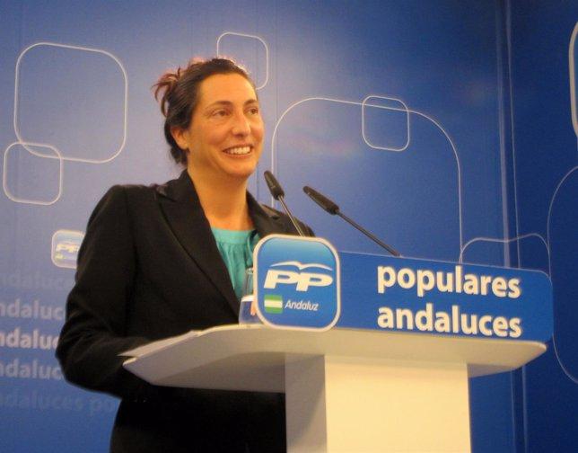 La secretaria general del PP-A, Dolores Lóepz Gabarro