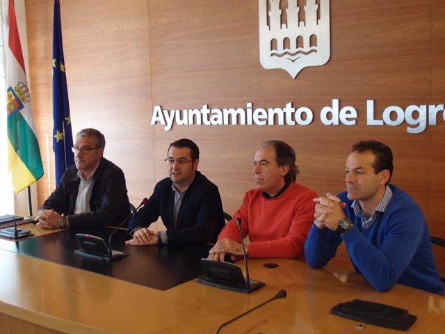 Presentación traslado voley a Logroño