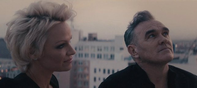 Pamela Anderson y Morrissey
