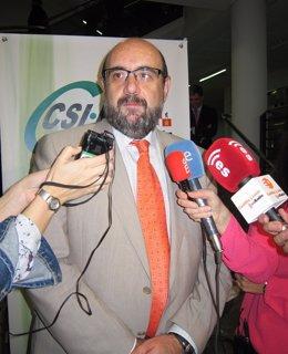 El presidente nacional de CSI-F, Miguel Borra