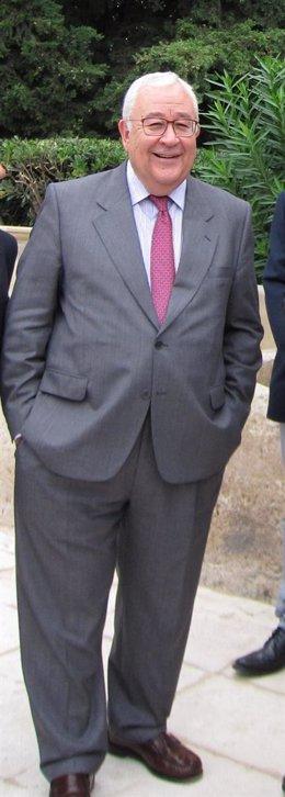 El presidente del PAR y de las Cortes de Aragón, José Ángel Biel