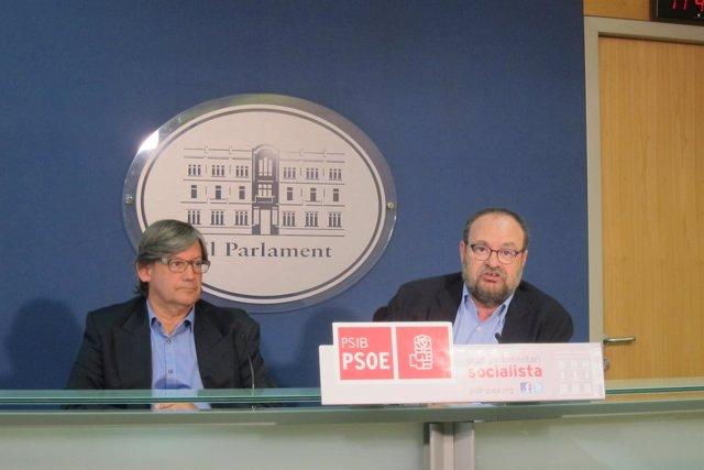 Rueda de prensa del PSIB