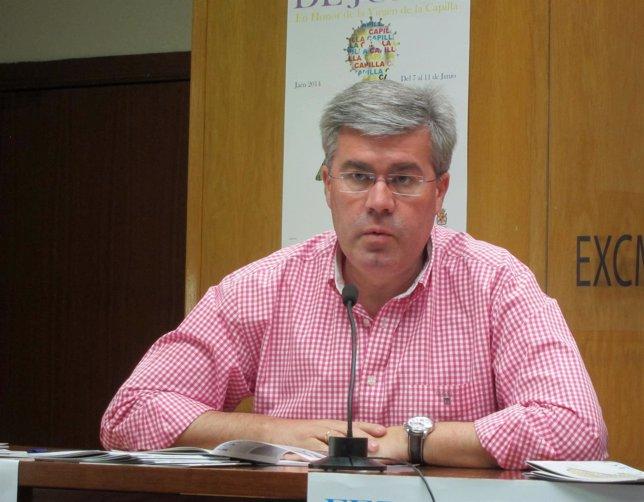 El alcalde de Jaén, José Enrique Fernández de Moya (PP).