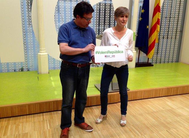 Joan Josep Nuet (EUiA) Dolors Camats (ICV)
