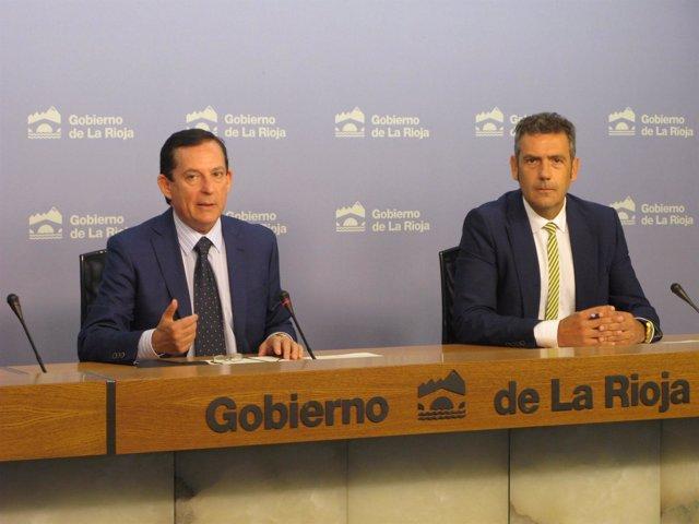 Erro y García del Valle, comparecen para informar de formación desempleo