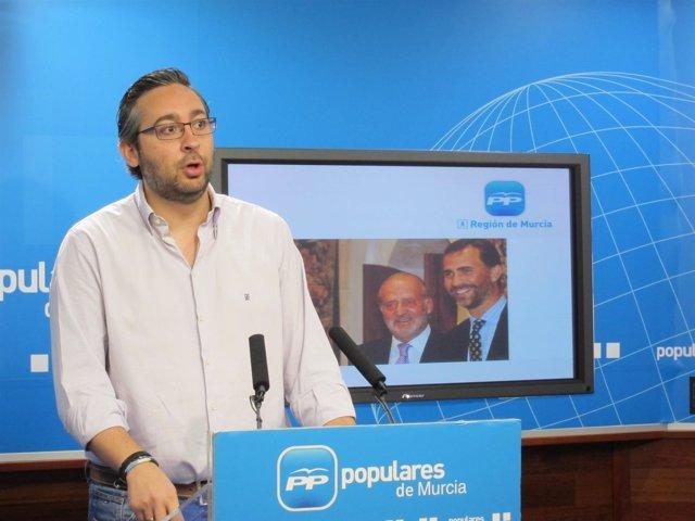 El portavoz adjunto y diputado del PP regional