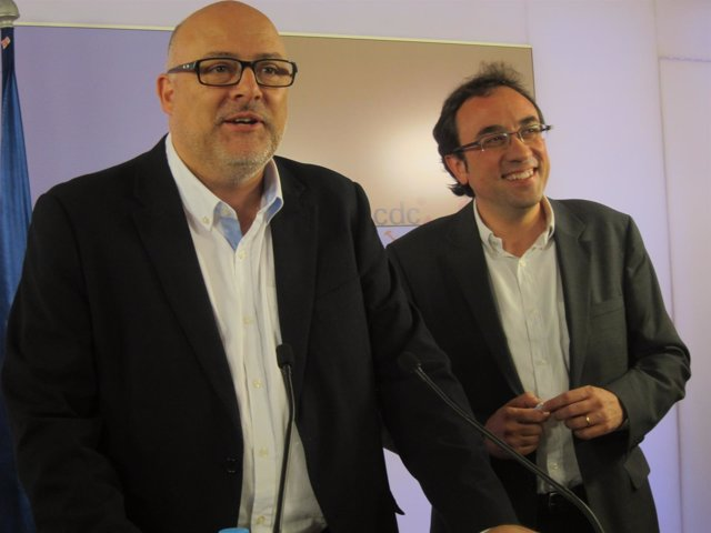 Lluís Corominas, Josep Rull (CDC)