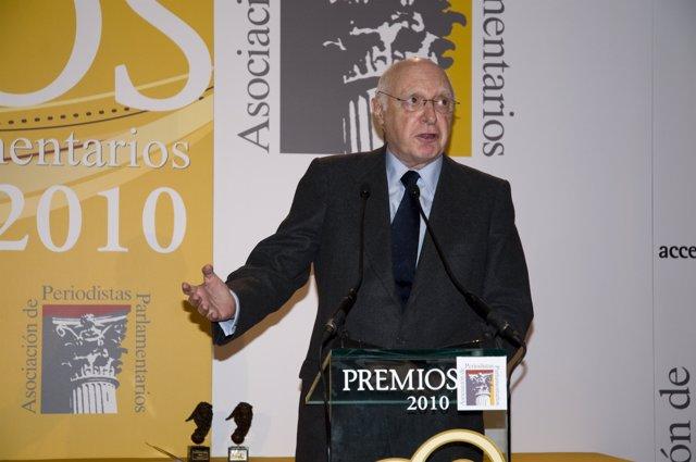 José Pedro Pérez Llorca, 'padre' de la Constitución