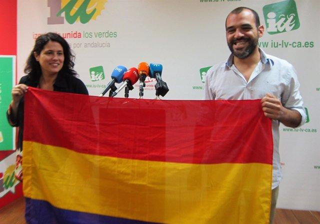 Amandar Meyer y José Manuel Mariscal, hoy ante los medios