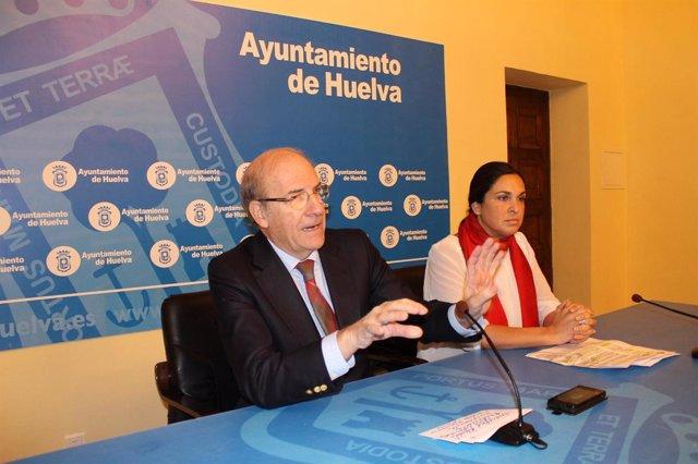 El alcalde de Huelva, Pedro Rodríguez (PP).