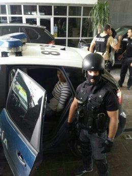 Detenido el acusado de matar a su mujer en Almería y huir a Valencia