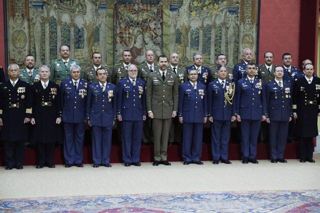 Prícipe Felipe y ejército
