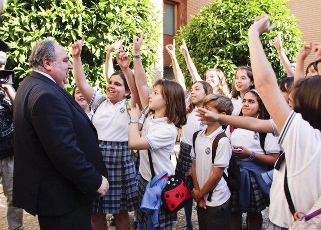 Jornada de puertas abiertas en las Cortes