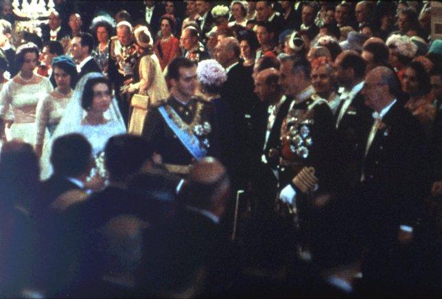 Boda de Juan Carlos I con Sofía de Grecia