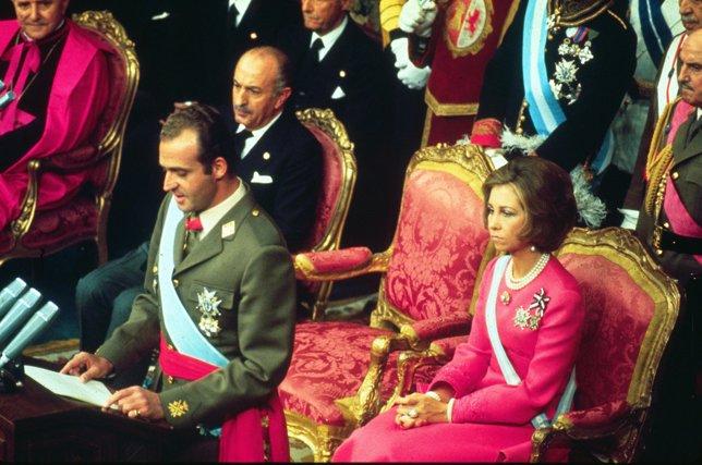 Proclamación oficial de Juan Carlos I como Rey de
