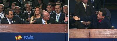 ¿Por qué no te callas? Rey y Hugo Chávez