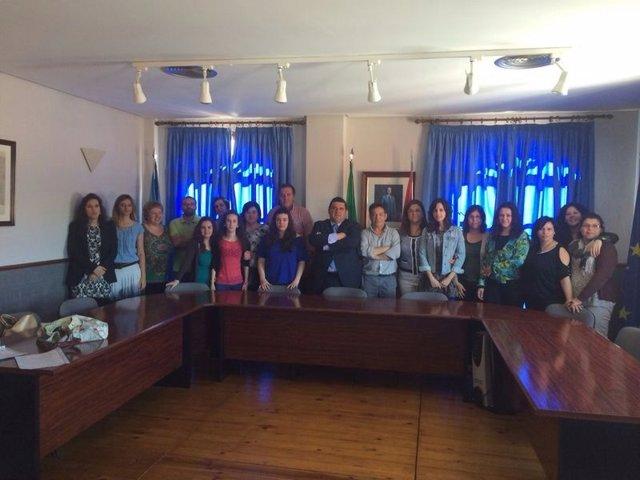 Entrega de diplomas Puebla de Obando