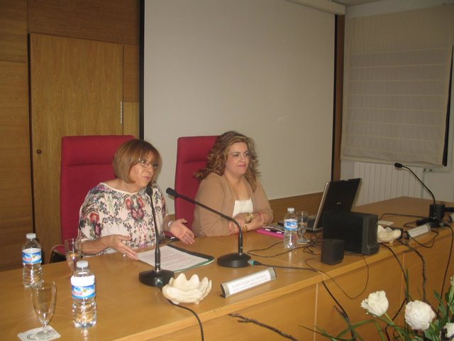 Inauguración de la jornada del IAM celebrada este lunes en Jaén