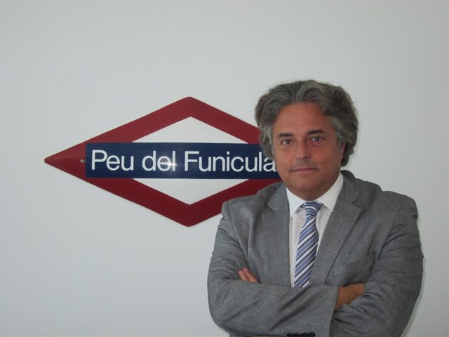 El presidente de FGC, Enric Ticó