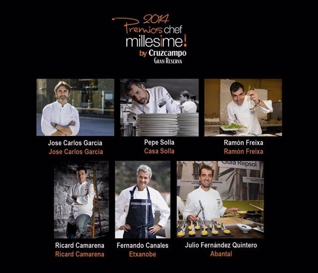Premiados Chef Millesime