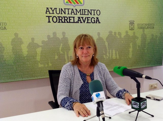 Paloma Santillán, edil de Torrelavega