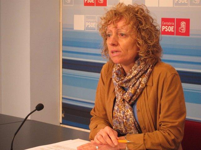 Eva Díaz Tezanos, secretaria general del PSC-PSOE