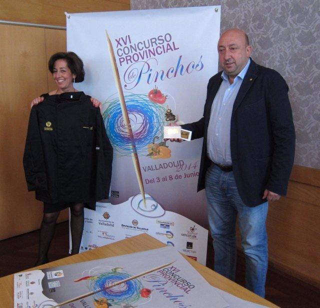 Presentación del concurso provincial de pinchos de Valladolid