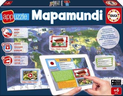 Educa lanza el primer Mapamundi con app, ¡participa en el sorteo!