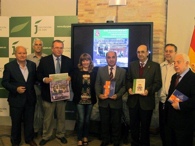 Presentación del Congreso de Cronistas Oficiales de Jaén