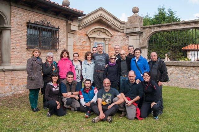 Participantes en el taller de macrofotografía