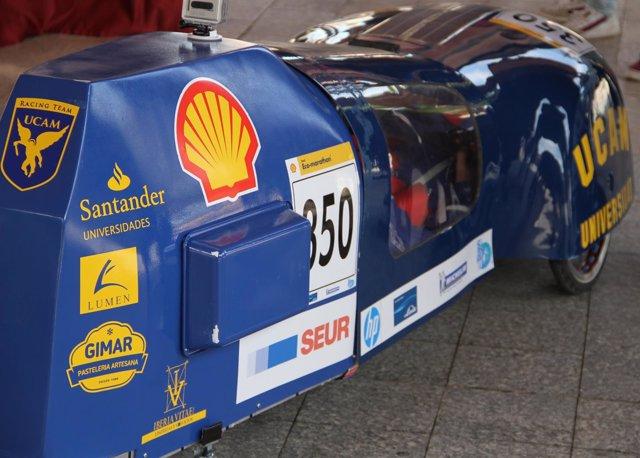 El UCAM Racing Team presenta el Sun Rider