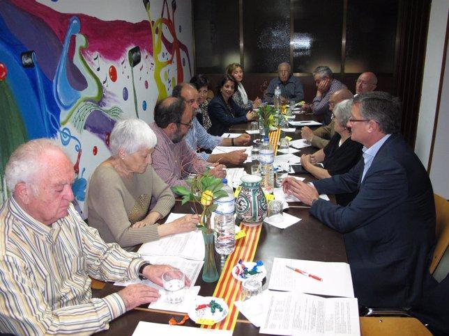 Reunión de COAPEMA y Ayuntamiento