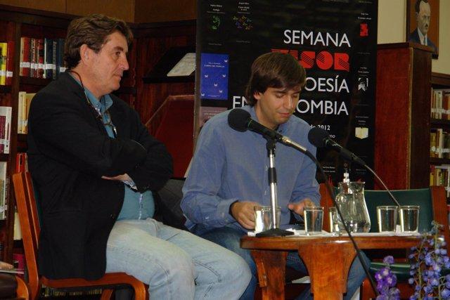 Fernando Valverde y Luis García Montero