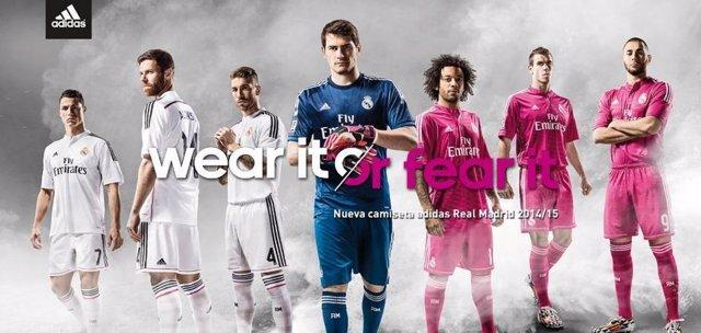 Nuevas equipaciones Real Madrid adidas 2014-15