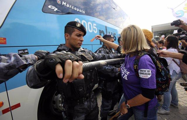 La Policía es la garantía del Gobierno para un Mundial sin conflictos