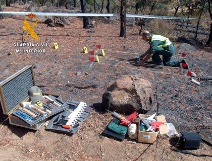 Dos imputados como presuntos autores de incendios forestales