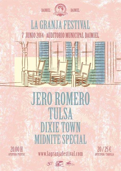 Jero Romero y Tulsa, este sábado en La Granja Festival