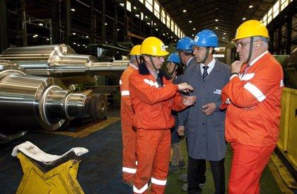 CANTABRIA.-Diego renueva la colaboración del Gobierno con Gerdau en beneficio de los trabajadores y de Campoo