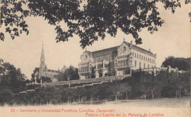 Foto antigua de Comillas